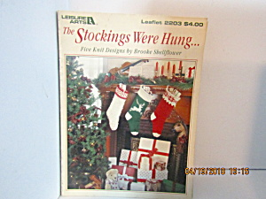 Leisure Arts The Stockings Were Hung #2203