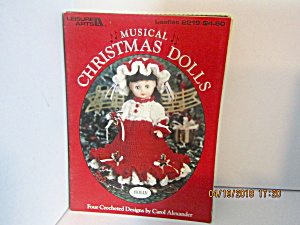 Leisure Arts Musical Christmas Dolls #2219