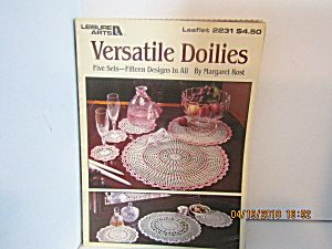 Leisure Arts Versatile Doilies #2231
