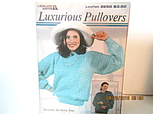Leisure Arts Knit Luxurious Pullover #2250