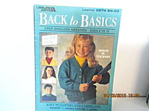 Leisure Arts Kids Back To Basics Size 6-12 #2274