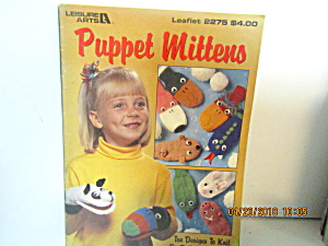 Leisure Arts Puppet Mittens #2275