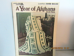 Leisure Arts A Year Of Afghans Book Three #2288