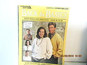 Leisure Arts Back To Basic Sizes 40-52 #2289