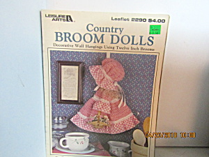 Leisure Arts Country Broom Dolls #2290