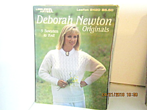 Leisure Arts Knit Deborah Newton Originals #2420