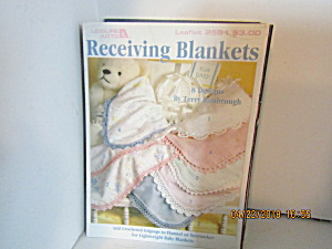 Leisure Arts Receiving Blankets Edgings #2584