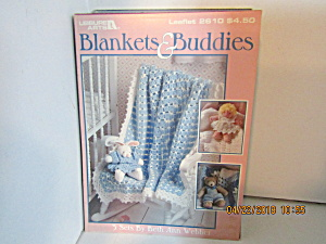Leisure Arts Blankets & Buddies To Crochet #2610
