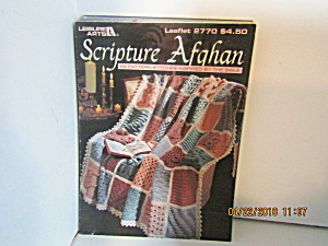 Leisure Arts Scripture Afghan To Crochet #2770