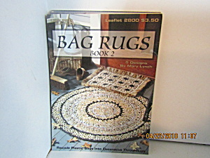 Leisure Arts Bag Rugs Book Two #2800