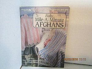 Leisure Arts Baby Mile-a-minute Afghans 2 #2835