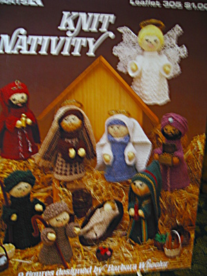 Leisure Arts Knit Nativity #305