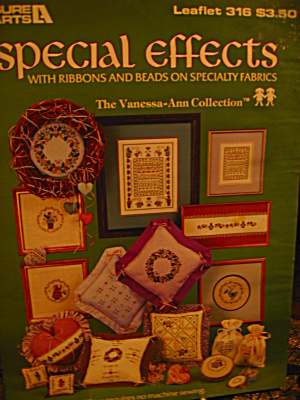 Leisure Arts Special Effects Ribbons & Beads #316