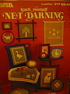 Leisure Arts Teach Yourself Net Darning #317