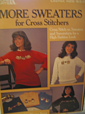 Leisure Arts More Sweaters For Cross Stitchers #426