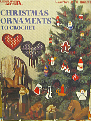 Leisure Arts Christmas Ornaments To Crochet #512