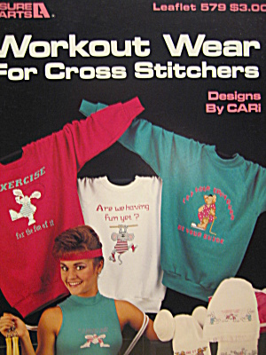 Leisure Arts Workout Wear For Cross Stitchers #579