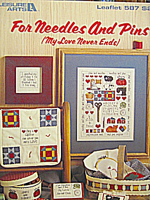 Leisure Arts For Needles And Pins #586