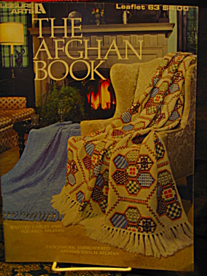Leisure Arts Leaflet #63 Afghan Book