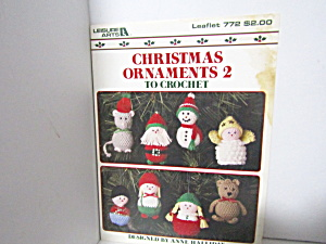 Leisure Arts Christmas Ornaments 2 To Crochet #772