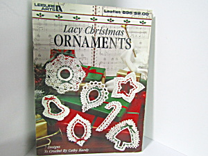 Leisure Arts Lacy Christmas Ornaments #896