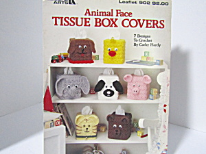 Leisure Arts Animal Facetissue Box Covers #902