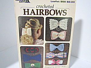 Leisure Arts Crocheted Hairbows #955