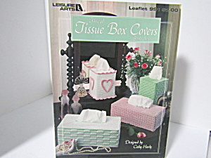 Leisure Arts Thread Tissue Box Cover Book Two #991