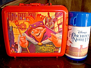 Disney Hunchback Of Notre Dame Lunchbox