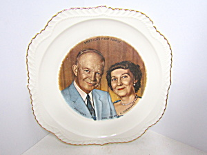 America's First Family Eisenhower Commemorative Plate