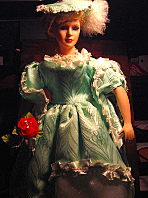 Victorian Porcilain Collectible Doll