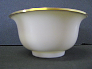 Lenox Gold Trimmed Ivory Dish