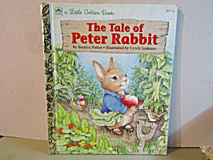 Vintage Little Golden Book The Tale Of Peter Rabbit