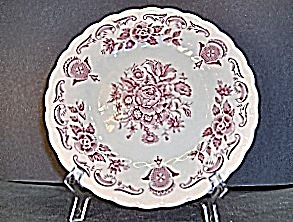 Myott Bouquet Bread Plate