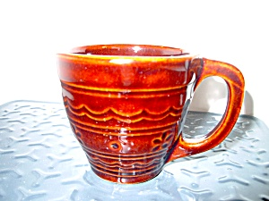 Vintage Mar-crest Dot & Dasiy Lagre Handle Mug