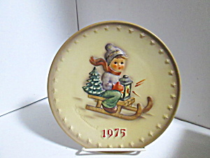 Vintage 1975 Goebel 5th Annual Hummel Plate