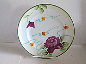 Vintage E-oh Nippon Hand Painted Plate