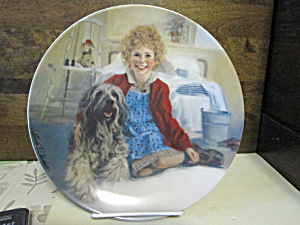 Limited Edition Annie's Plate Annie And Sandy