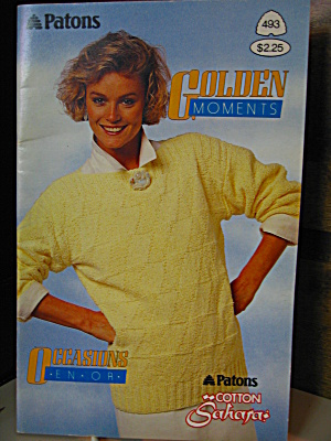 Patons Beehive Golden Moments Booklet #493