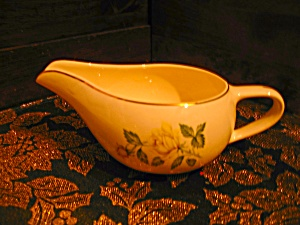 Paden City Pottery Golden Scepter Gravy Boat