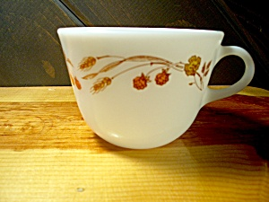 Vintage Pyrex Harvest Coffee Cup