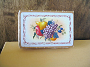 Vintage Nouvelle Fruit Playing Cards