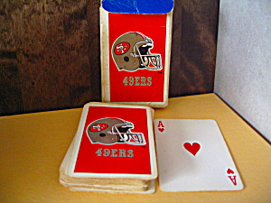 Nfl Team Playing Cards 49ers