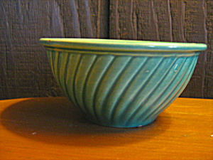 Pottery Bowl Green