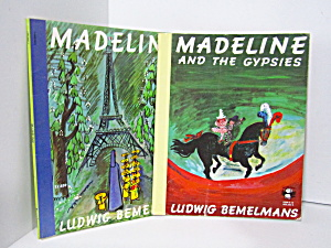 Vintage Children's Book Set Madeline Books