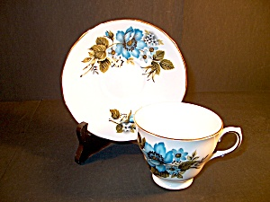 Bone China Cup And Saucer Queen Anne