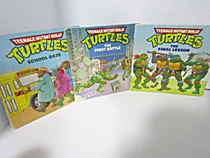 Book Set Teenage Mutant Ninja Turtles Mini-storybooks