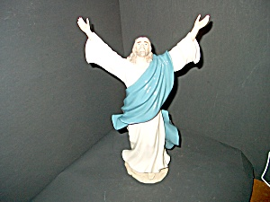 Porcelain Christ Sculpture