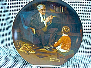 Rockwell Limited Edition Plate The Tycoon