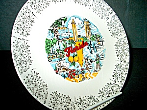 Collector State/souvenir Plate Florida
